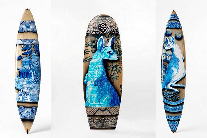 Расписные доски для серфинга. Художественная пирография Питера Уокера (Peter Walker)