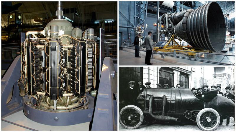 Как выглядят самые большие в мире двигатели(13 фото)