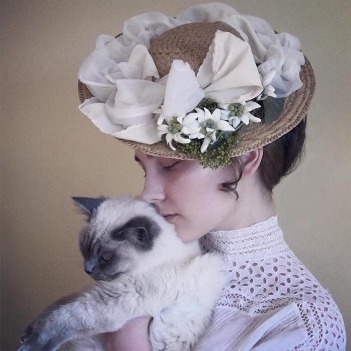 Девушка Эдвардианской эпохи.