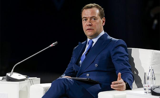 Дмитрию Медведеву санкции За…