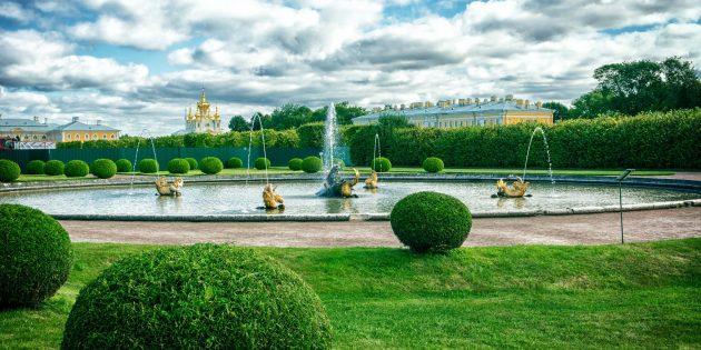 Красивые места России. Петергоф