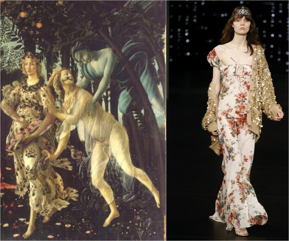 Как выбрать платье с цветочным принтом: вдохновляемся шедеврами живописи
