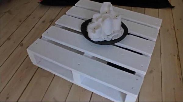 мебель из грузовых паллет