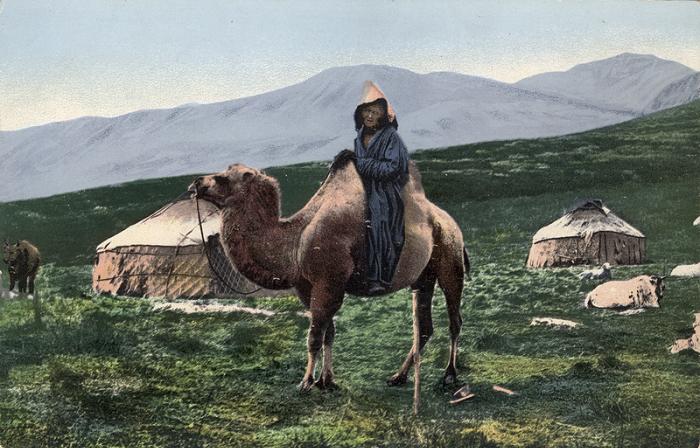 Фотографии Сергея Борисова, сделанные во время этнографической экспедиции по Алтайскому краю с 1907-1914 годы.
