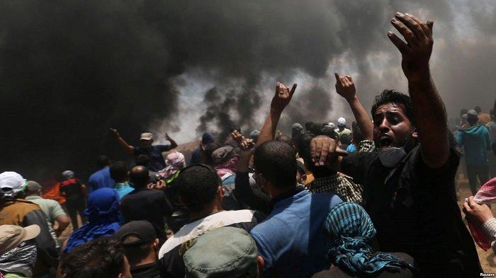 """Сектор Газа: число убитых достигло 59 человек, заявление Нетаньяху и """"дикая"""" реакция ООН"""