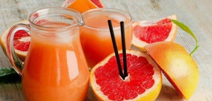 Сок из грейпфрутов и апельсинов снижает риск развития остеопороза