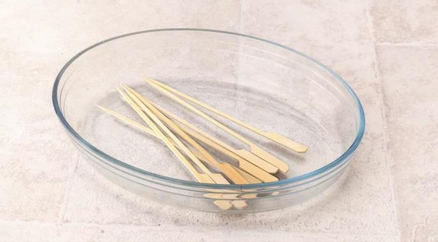 Шашлычки-сатай из индейки с арахисовым соусом. Шаг 5