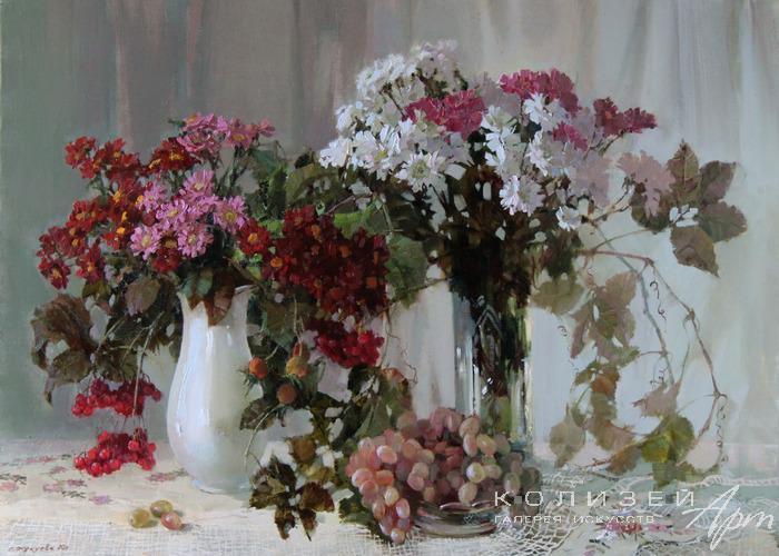 В цветах заложен настоящий смысл Любви… Художник Светлана Кукуева
