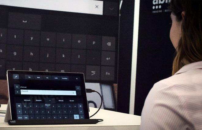 Microsoft тестирует систему управления компьютером с помощью глаз