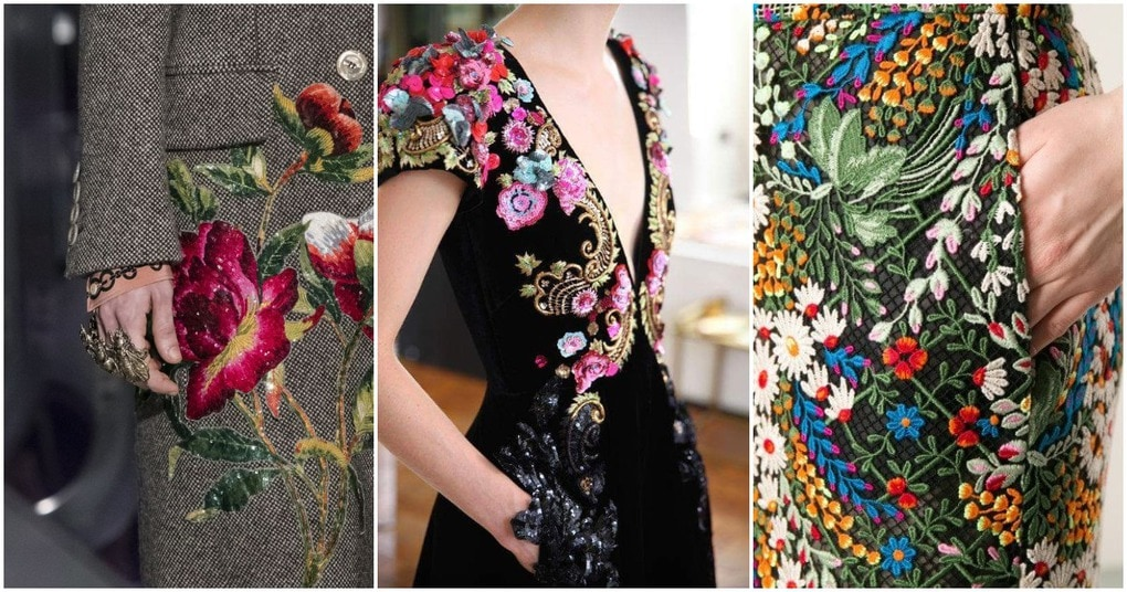 23 платья с дизайнерской вышивкой и деталями