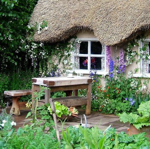 Мой зачарованный сад: вся палитра красок кантри-сада на 6 сотках
