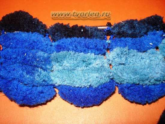 Вязание крючком пампушечек