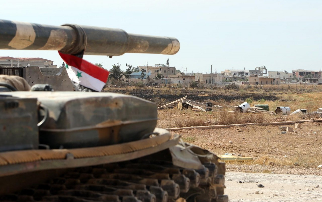 Запад озабочен военными успеха Сирии на юге страны