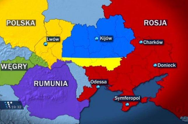 Польша, Венгрия и Румыния готовятся к распаду Украины