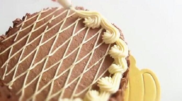 Великолепный домашний торт «Золотой ключик»