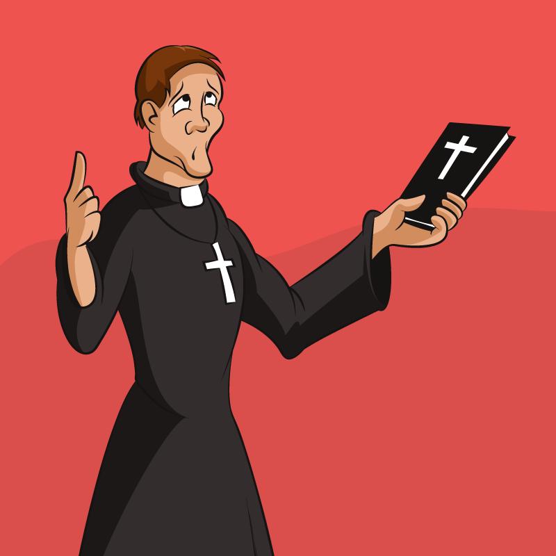 Анекдот про старика, который задал вопрос священнику