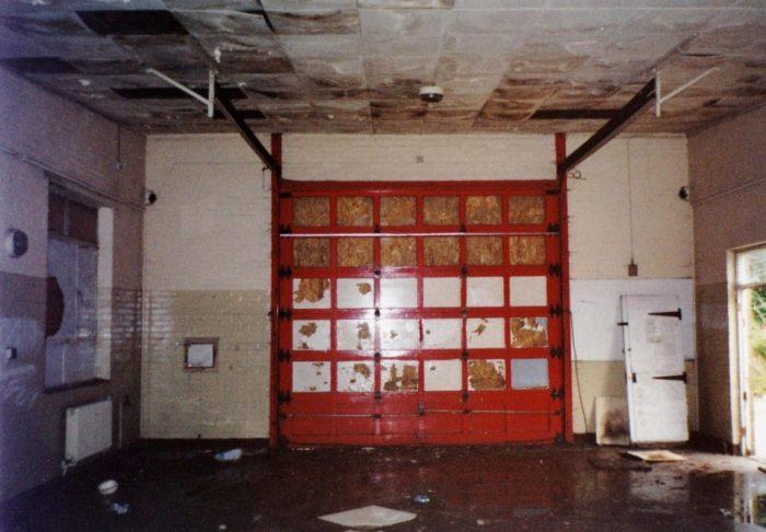 Дом из старой пожарной станции