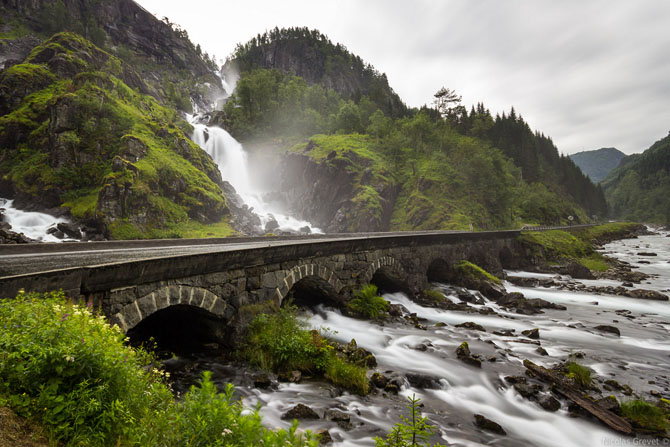 Рейтинг самых красивых водопадов Норвегии