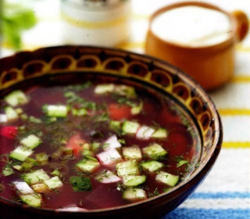 Ботвинья – варианты летнего супа