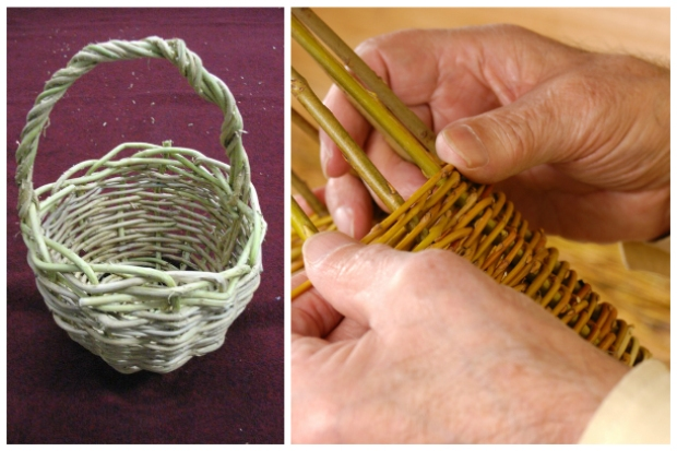 Плетение из лозы мастер класс с