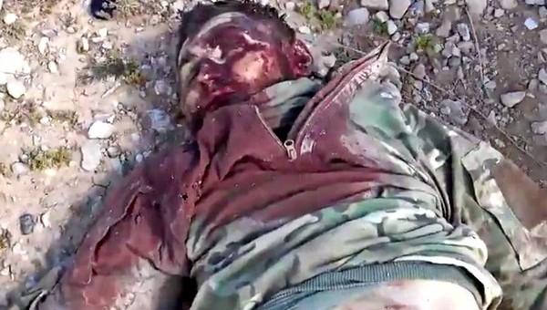 ИГ заявляет о захвате тела убитого российского военного советника под Пальмирой