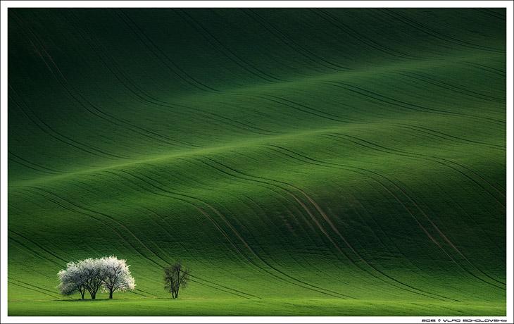 Пейзажи Южной Чехии