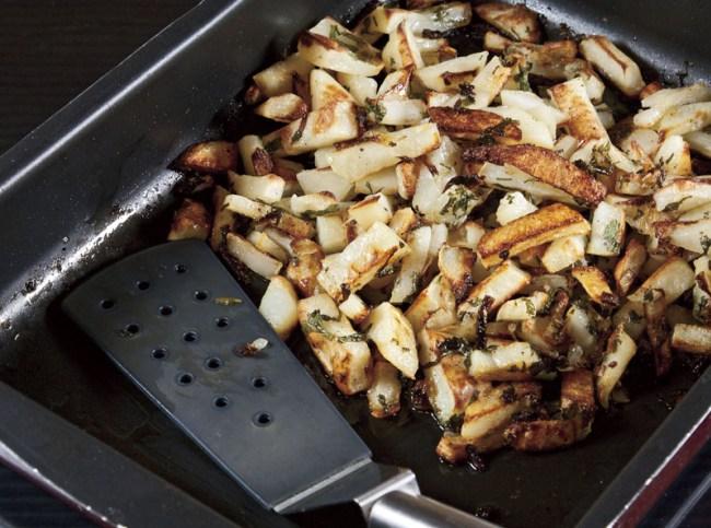 Картофель жареный, печеный и тушеный одновременно