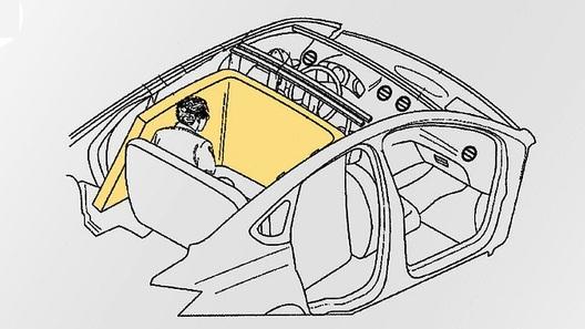 Ford изобрел подушку безопасности размером с кровать