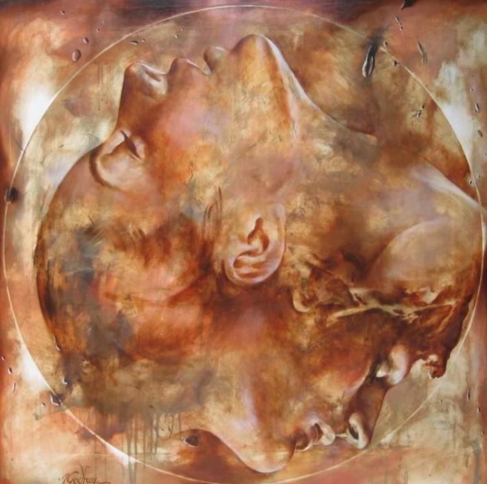 Женская сексуальность в картинах французского художника Yarek Godfrey