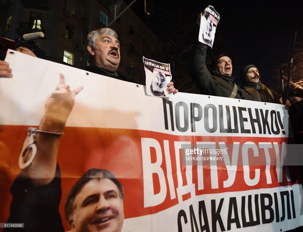 Саакашвили арестовали и выслали.