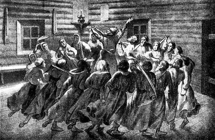 Секты и язычество на Руси: Хлысты, вертуны, телеши и скопцы