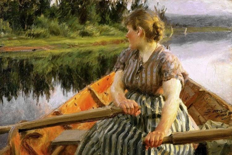 Художник Anders Leonard Zorn (1860 – 1920). 18+