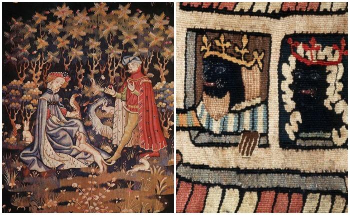 Гобелен XIV века, Франция