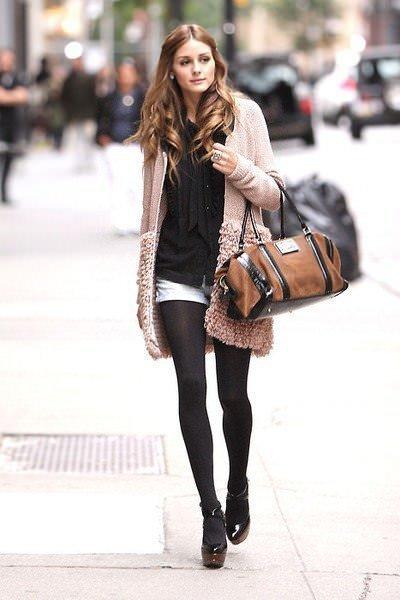 Шорты с колготками: как носить это неоднозначное, но модное сочетание