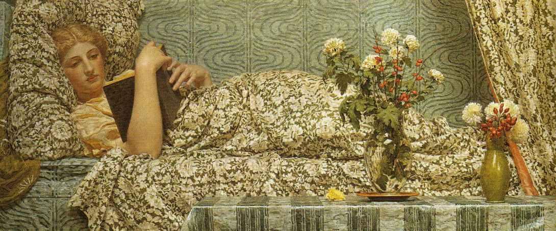 Английский художник Альберт Джозеф Мур