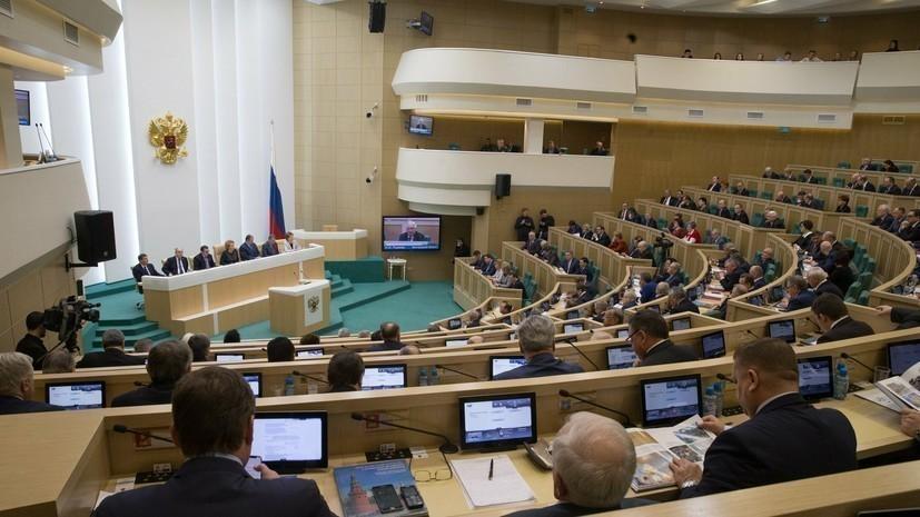 В Совфеде прокомментировали заявление СНБО о планах России «вмешаться в выборы»