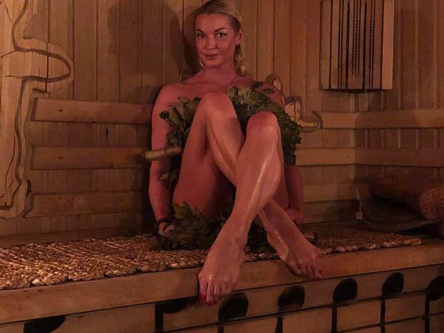 Волочкова похвасталась новым любовником на День влюбленных