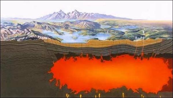 Ученые опровергли слухи о скором извержении супервулкана в сша