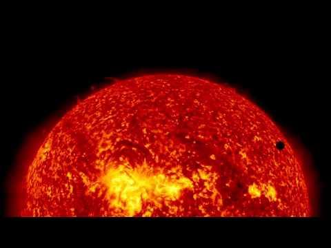 НАСА: Прохождение Венеры.