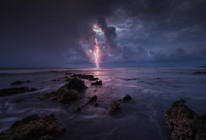 В океанских просторах. Автор фотографии: Блейк Рэнделл.