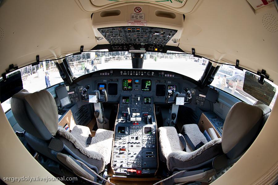 6128 Бахрейнский авиасалон: Интерьеры самолетов