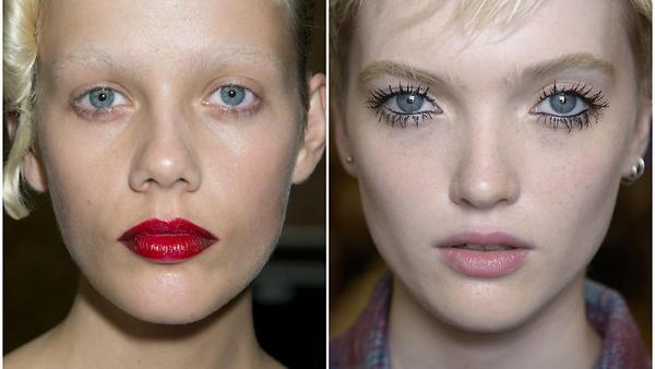 Пять идей макияжа с подиумов…