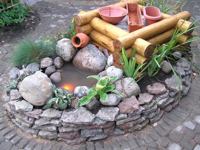 Изделия из камней своими руками для дачи