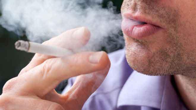 Даже одна сигарета в день по…