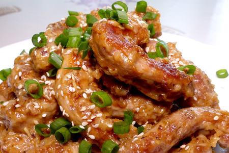 Фото к рецепту: Куриные шеи в пиве