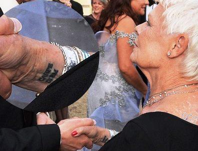 В подарок на  81 день рождения — татуировка.  И уже никто не скажет, что это будет выглядеть ужасно через 40 лет...
