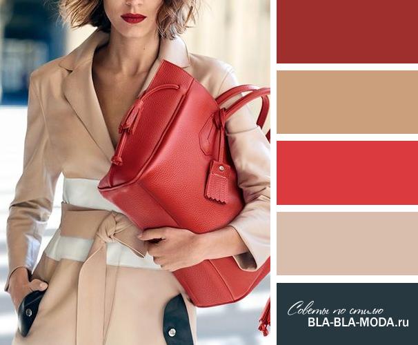 Подбираем правильно цвета в одежде