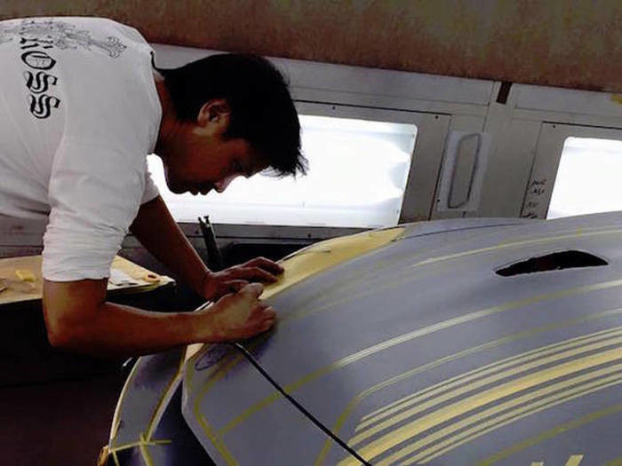 Самая сложная покраска автомобиля