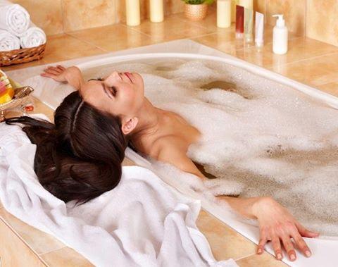 Фото в ванной женщины фото 37324 фотография