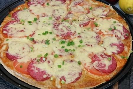 Фото к рецепту: Пицца на лаваше
